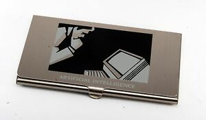 Rare artificial Intelligence Gte North Inc Business credit Card Holder Case