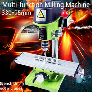 Mini Precision Milling Machine Worktable Multifunction Drill Vise Table Us