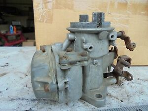 Jeep Willys Cj Jeepster wagon Holley 226 6 Cly 1320 947077 Carburetor