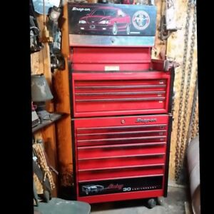 30th Anniversary Mustang Snap On Rolling Tool Box Limited Edition 167 Of 5000