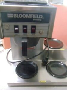 Bloomfield Koffee King Pour Over Drip Coffee Maker Three Warmers Model 8571