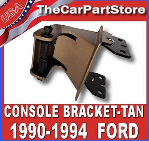 Front Center Console Armrest Hinge Bracket 1991 1994 Explorer Ranger Pickup Tan