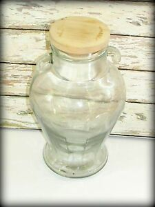 Vintage Candy Store Apothecary Jar Thick Glass Beautiful