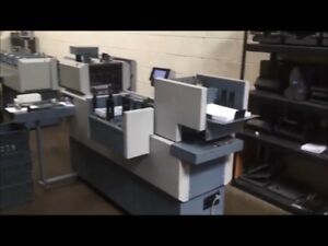 Kas 565 Envelope Inserter Integrated Folder Mailing Machine Direct Mail