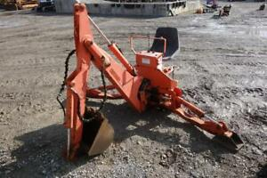 Kubota 4690 Backhoe Attachment W 14 Digging Bucket 3 Point Hook Up S 124771