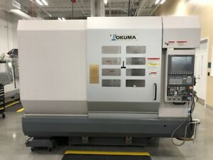 Used Okuma Mc v4020 Cnc Vertical Mill 2007 5 axis P200m 40 20 18 13000 Rpm