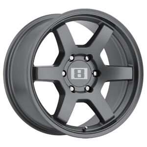 4 Level 8 Mk6 17x9 6x139 7 6x5 5 12mm Gunmetal Wheels Rims