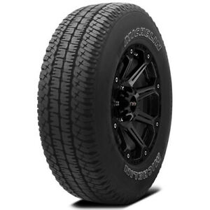 2 new 245 65r17 Michelin Ltx A t2 107s B 4 Ply White Letter Tires