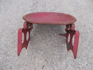 Farmall A Tractor Tag Ih Complete Seat Assembly Pan Brackets Platform Mounts Lig