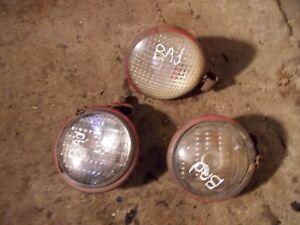 2 Farmall Louisville Sm Tractor Orignal Nonwork Front Head Lights