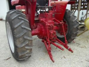 Firestone Field Road 16 9 X 34 Tractor Tires On Double Bevel Rims 706 806 856