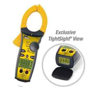 Ideal 61 775 1000a Ac dc Tightsight Clamp Meter With Trms Capacitance Frequency