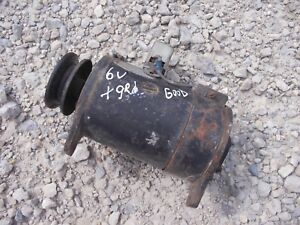 Oliver Massey Farmall Tractor Good Working Universal 6v Generator W Belt Pulley