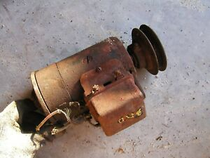 Farmall A B Bn C Ih Tractor Generator With Pulley