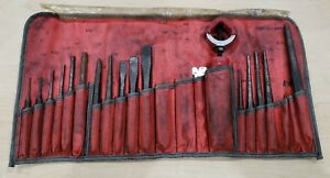 Vintage Snap On Ppc210ak Punch And Chisel Set Missing 4 Pcs Free Shipping