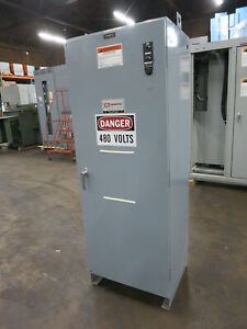 Zenith 600 Amp 480v Ztsh60ec Automatic Transfer Switch Ats 3ph 480 Volt 600a