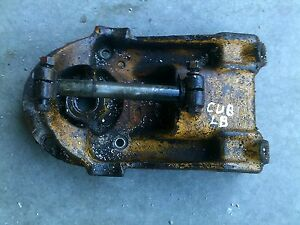 Farmall Cub Lo Boy Tractor Ih Implement Bracket Steering Bolster W Mounting Pin