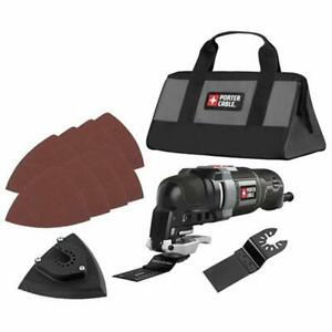 Porter cable Oscillating Tools Pce606k 3 0 Amp 11 piece Multi tool Kit