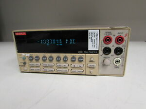 Keithley 2000 6 5 Digital Multimeter Power Switch Stuck At On