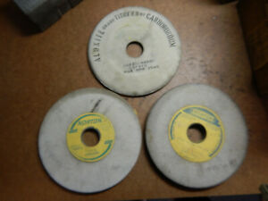2 New Old Stock Norton 7 X 5 8 X 1 1 4 Surface Tool Grinding Grinder Wheels