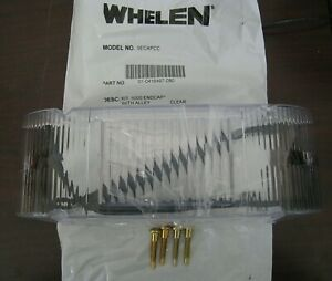 Whelen Edge 9000 Clear End Cap Lens Kit With Alley 9ecapcc 01 0416497 080