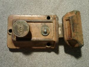 Antique Vintage Yale Deadbolt Door Lock