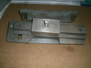 Hardinge Lathe Taper Turning Attachment With Guide Block