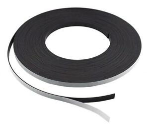 Master Magnetics Zg05a abx Flexible Magnet Strip With Adhesive Back 1 16