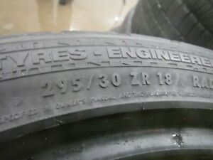 2 Tires Continental Sportcontact 295 30 18 8 32nds 8593652