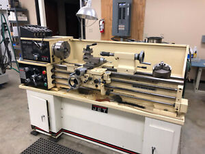 Jet Lathe Ghb 1340a Cabinet Stand Accessories
