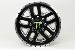 Blemished Single 20x9 Black Wheel Monster Energy 539bm 8x180 18