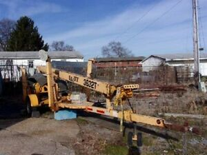Bil jax 3632t Towable Man Lift In Need Of Repair 5000