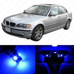 16 X Blue Led Interior Light Package For 1999 2005 Bmw 3 Series M3 E46 Tool