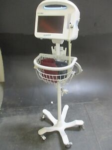 Welch Allyn 6000 Series Medical Monitor W Stand For Vital Signs Monitoring