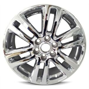 Chrome Wheel Rim 20 Inch 09 15 Chevy Traverse 07 15 Gmc Acadia 12 Spoke New Oem