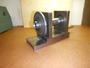 Older 5c Collet Spin Index Fixture Machinist Tool Jig Lot A