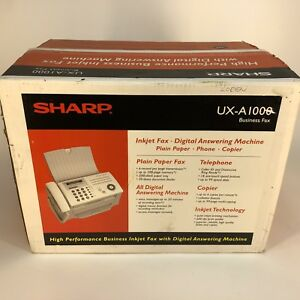 New Sharp Fax Machine Ux a1000 High Performance Inkjet With Digital Answering