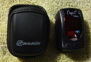 Nonin Onyx Ii 9550 Finger Pulse Oximeter Spo2 Blood Oxygen Monitor Heart Rate