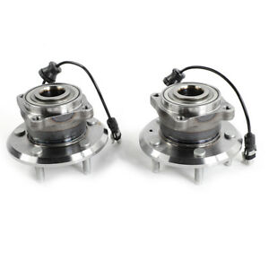 2 Warranty New Rear Wheel Hub And Bearing Assembly For 2007 2009 Chevy Equinox