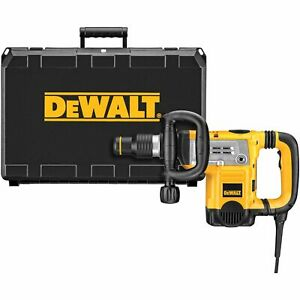Dewalt D25831k Sds Max Demolition Hammer Kit W shocks