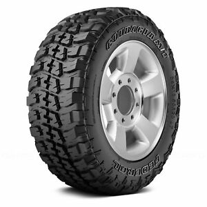 Federal Set Of 4 Tires Lt285 75r16 Q Couragia M T All Terrain Off Road Mud