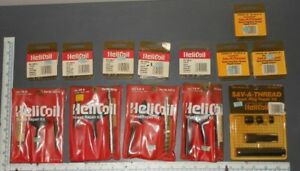 Lot Of Helicoil Thread Repair Kits