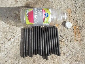 Farmall Sm Super M Mta Smta Tractor Ih 16 Cylinder Head Bolts Bolt