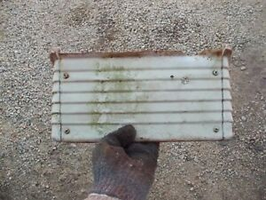 Farmall 560 460 Rc Tractor Ih Ihc 3 Piece White Panel Panels Fr Under The Dash