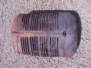 Farmall Sc Super C Tractor Factory Ihc Ih Front Nose Cone Grill W Screen