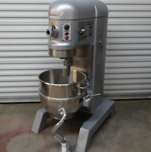 Excellent Hobart 60 Qt Dough Bakery Pizza Mixer H600t 2hp Power Bowl Lift