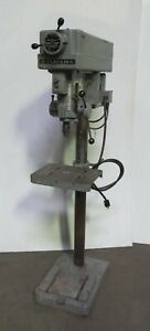 15 Clausing Model 16vc 1 Drill Press Variable Speed Made In Usa