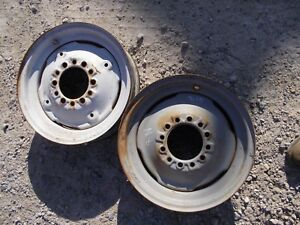 Ford 8n Tractor 16 X 4 1 2 Press Style Front Rim Rims For Tire To Hub
