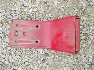 Farmall 300 350 400 Mta Ih Tractor Easy Rider Seat Pan Flip Over Latch Ihc Bolts