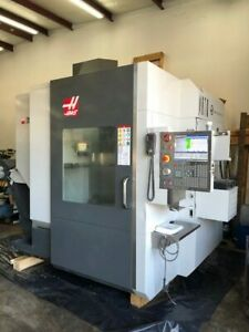 Used Haas Umc 750ss Cnc Vertical 2017 5 axis Tsc Probes Chip 40 Smtc Super Speed